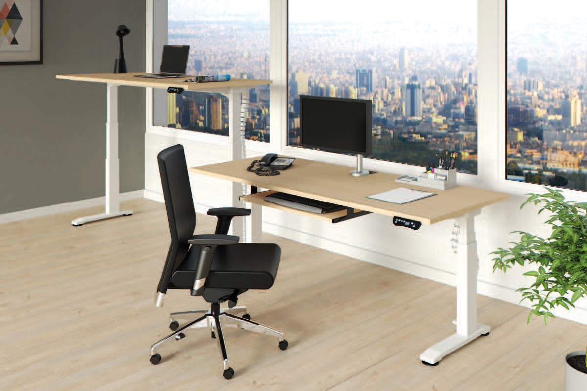 Desk + Chair - Heartwood Apollo